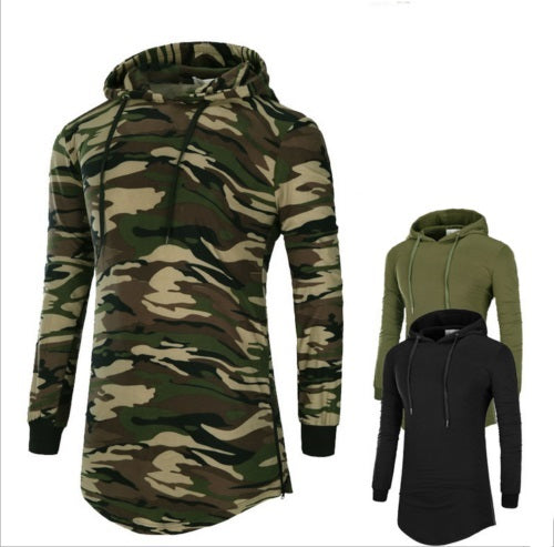 Men's Casual Hooded Hoodies Long Sleeve Men Clothing Top