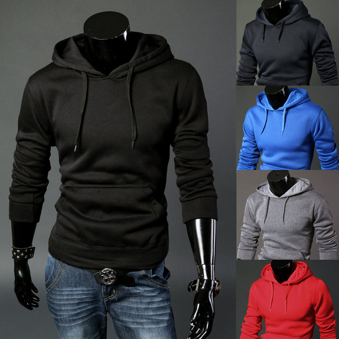 Men's Hoodie Sweatshirt Slim Fit Casual