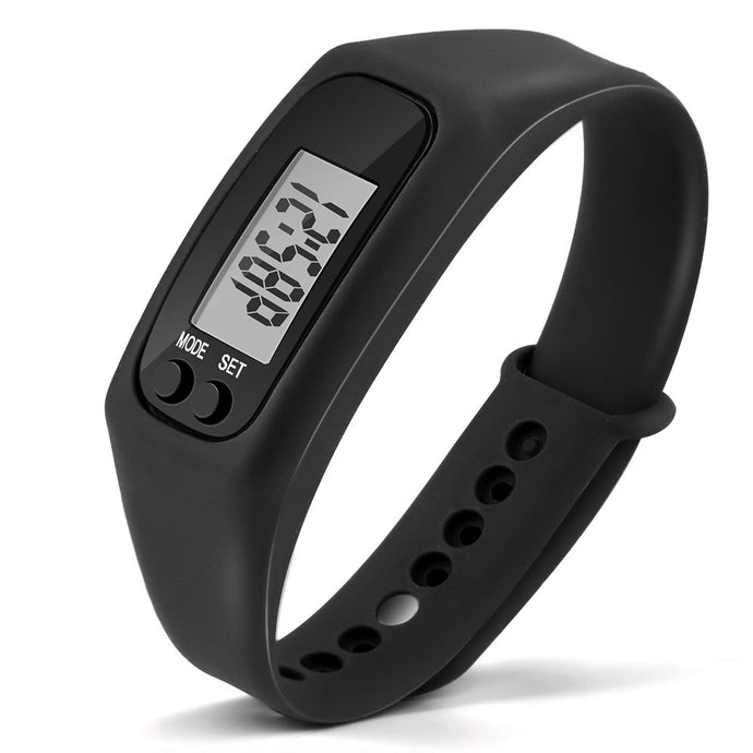Run Step Watch Pedometer Calorie Counter Digital LCD Walking Distance
