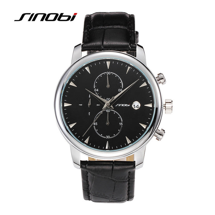 SINOBI Waterproof sports automatic date watch
