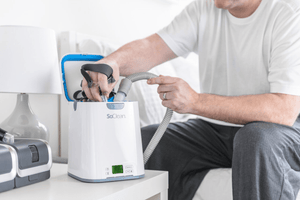 Cleaning CPAP
