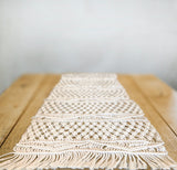 Petit Macrame Table Runner