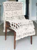 Grande Macrame Table Runner