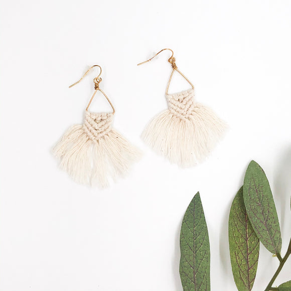 Mercy Macrame Earrings