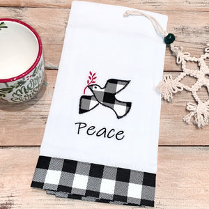 Peace Tea Towel