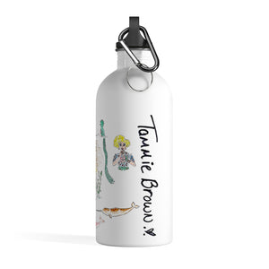 Tammie Brown Patrón Animales Water Bottle
