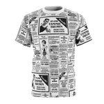 Load image into Gallery viewer, Tammie Brown Newsprint Unisex Shirt