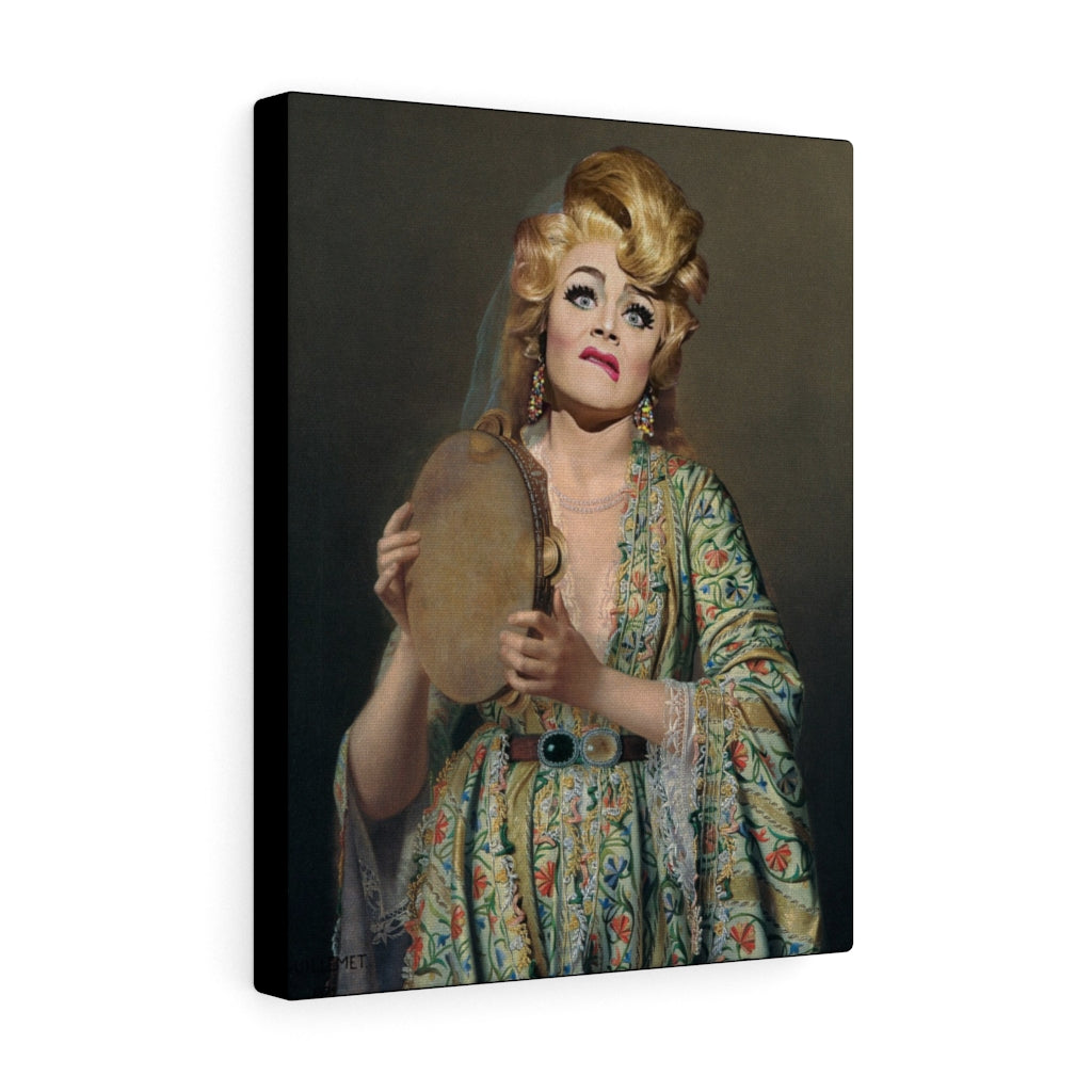 Tammie Brown Portrait of a Lady Wrapped Canvas