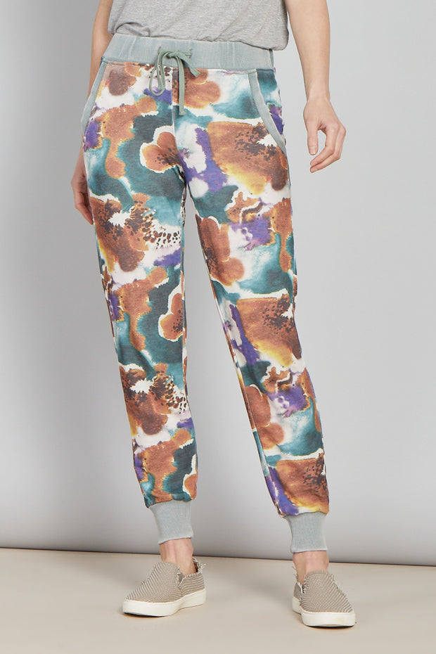 WATER FLOWER PANTS