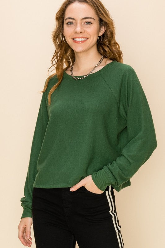 EVERGREEN DAYS CASUAL SWEATER