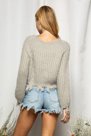 TAKING CHANCES SWEATER