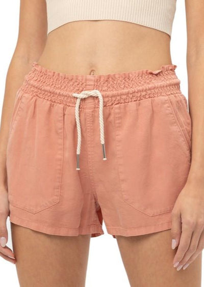 EASY TO CHILL DRAWSTRING SHORTS - ASSORTED COLORS