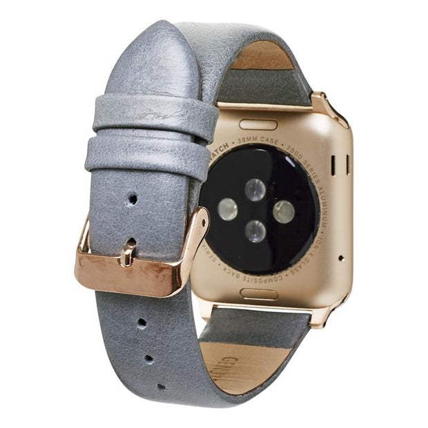 LEATHER SMART BAND WATCH - ASSORTED COLORS