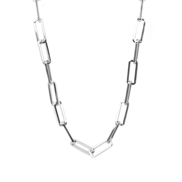 LAYER UP LINK NECKLACE - GOLD OR SILVER