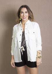 ELAN: ROCK & ROLL SHACKET - WHITE