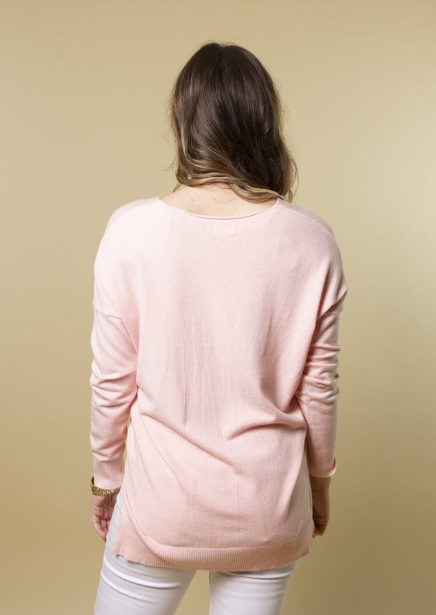NO MATTER THE SEASON SWEATER - PINK