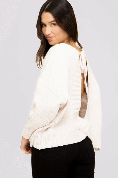 SURPRISES SWEATER - CREAM