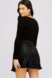 GLAM IT UP SUEDE SKIRT - MISC