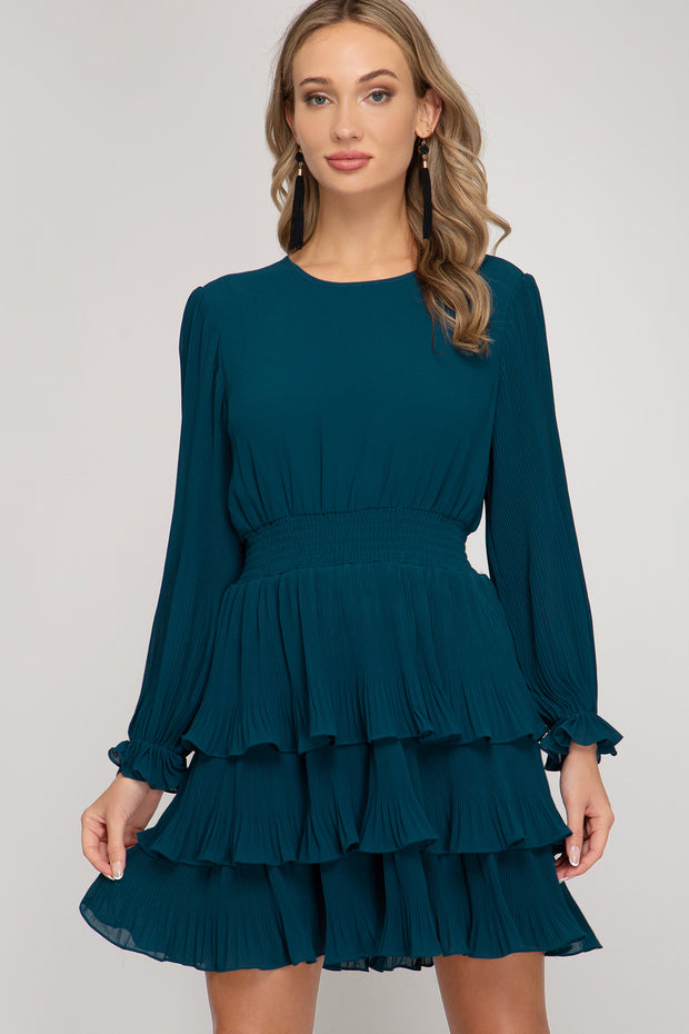 ITS DREAMY PLEATED DRESS