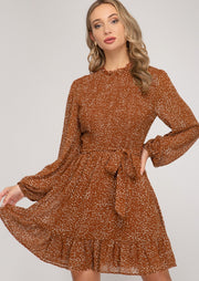 CINNAMON CANDY DRESS