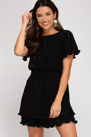 BELLA FLUTTER DRESS - MISC