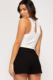 SIMPLY CHIC SHORTS - BLACK