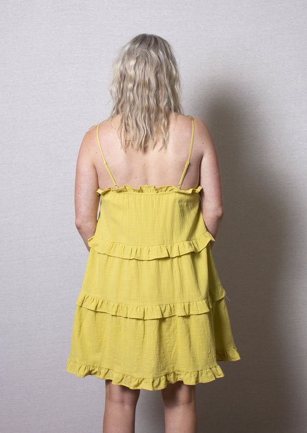 SWEET & SUNNY TIERED DRESS
