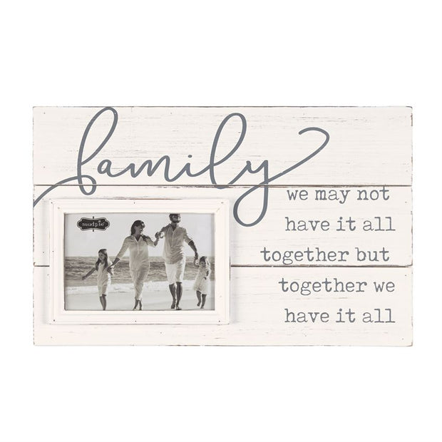 FAMILY PHOTO FRAME - MUDPIES