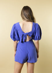 CHARM YOUR WAY ROMPER - BLUE