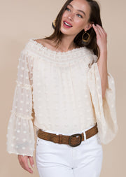 IVY JANE: OH MY IVORY BLOUSE