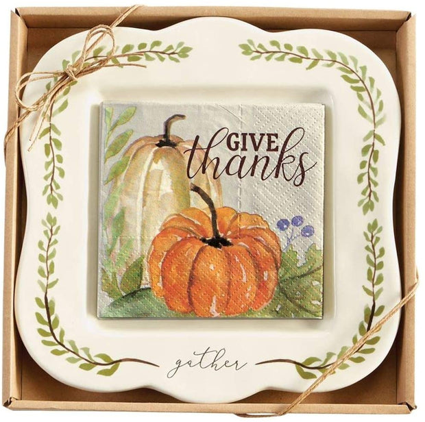 MUD PIE: GIVE THANKS CHEESE SET