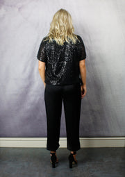 BELIEVE IN MAGIC SEQUIN TOP