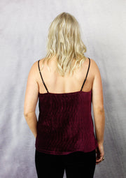 CRUSH ON YOU VELVET CAMI