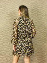 NYC LEOPARD PRINT DRESS