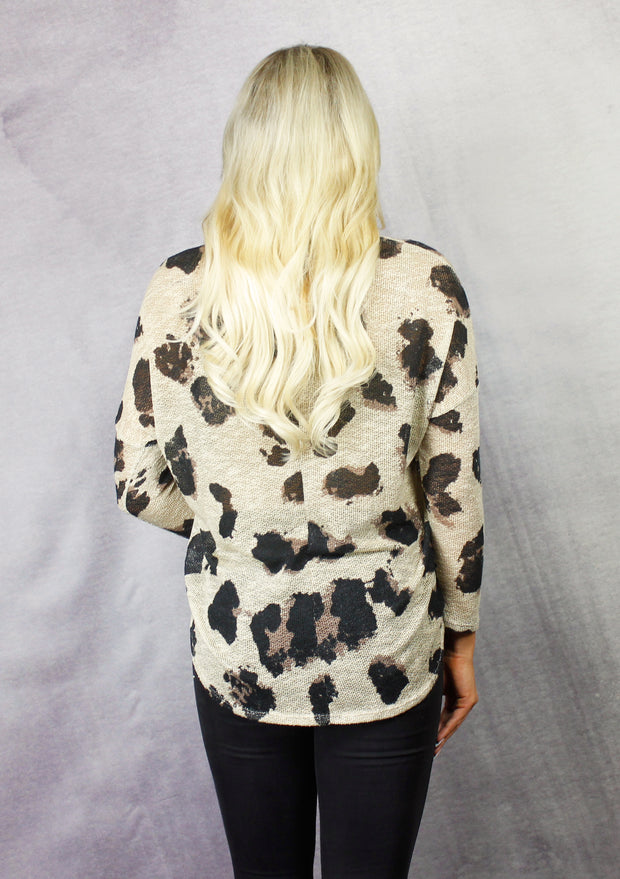 SPOTTED PERFECTION SWEATER