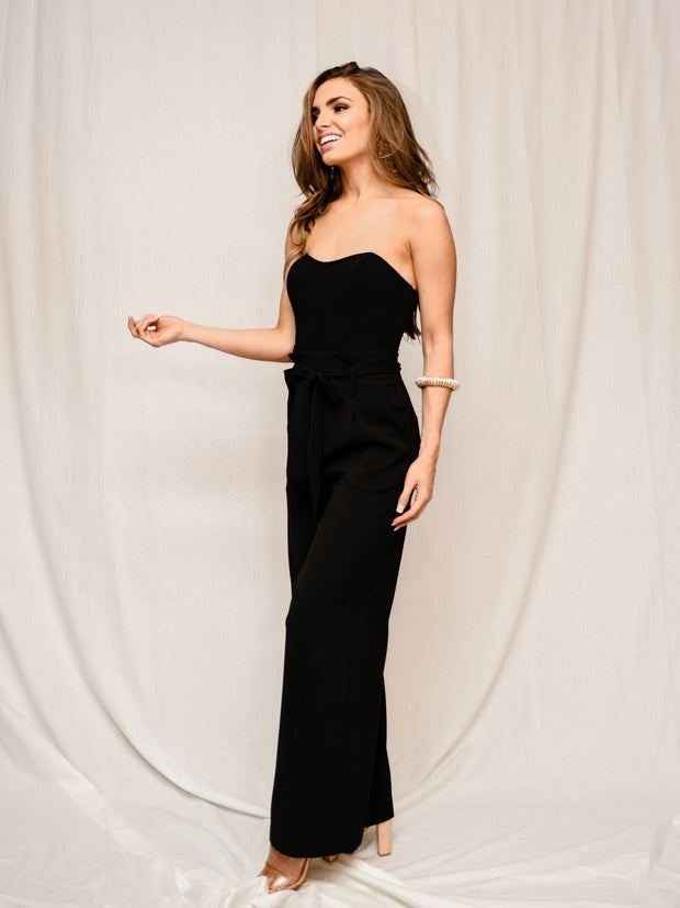 THE AURORA BLACK JUMPSUIT