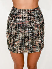 BLAIR TWEED SKIRT