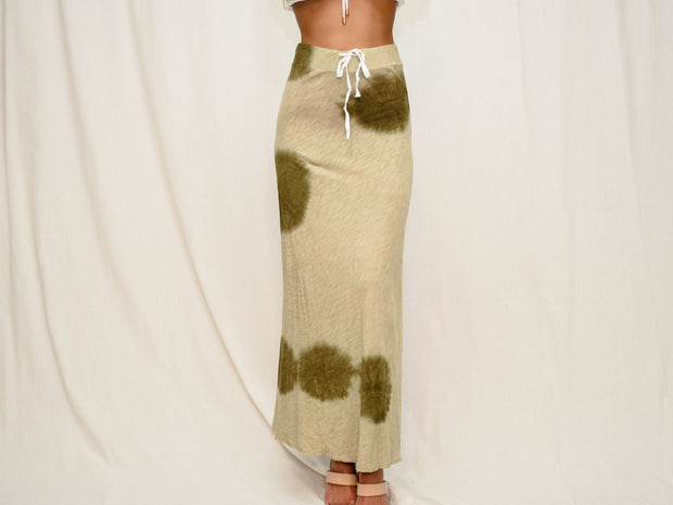 BOHO BEAUTY TIE DYE MIDI SKIRT