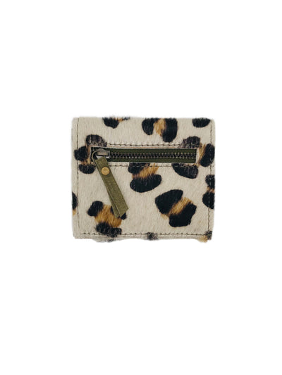 LEOPARD/OLIVE CARD HOLDER