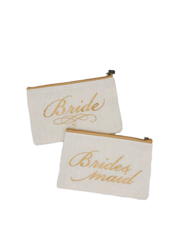 BRIDE | BRIDESMAID COSMETIC BAG