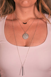 OH SO TRACIE: CADIZ NECKLACE - SILVER
