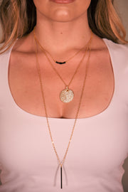 OH SO TRACIE: CADIZ NECKLACE - GOLD