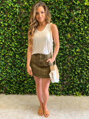 LENNOX FREE PEOPLE MINI SKIRT