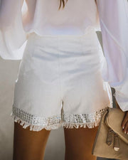 TOUCH OF SPARKLE SEQUIN EMBELLISHED SKORT