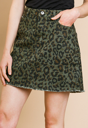 WELCOME TO THE JUNGLE SKIRT