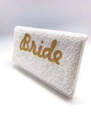 BRIDE BEADED CLUTCH