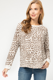 FIERCE ANIMAL PRINT PRINT TOP