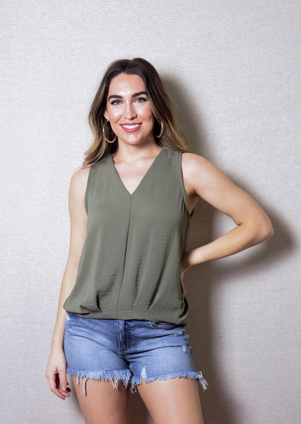 GLORIOUS SUNLIGHT PLEATED TANK - VARIOUS COLORS