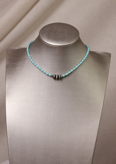 TOUCH OF TURQUOISE NECKLACE