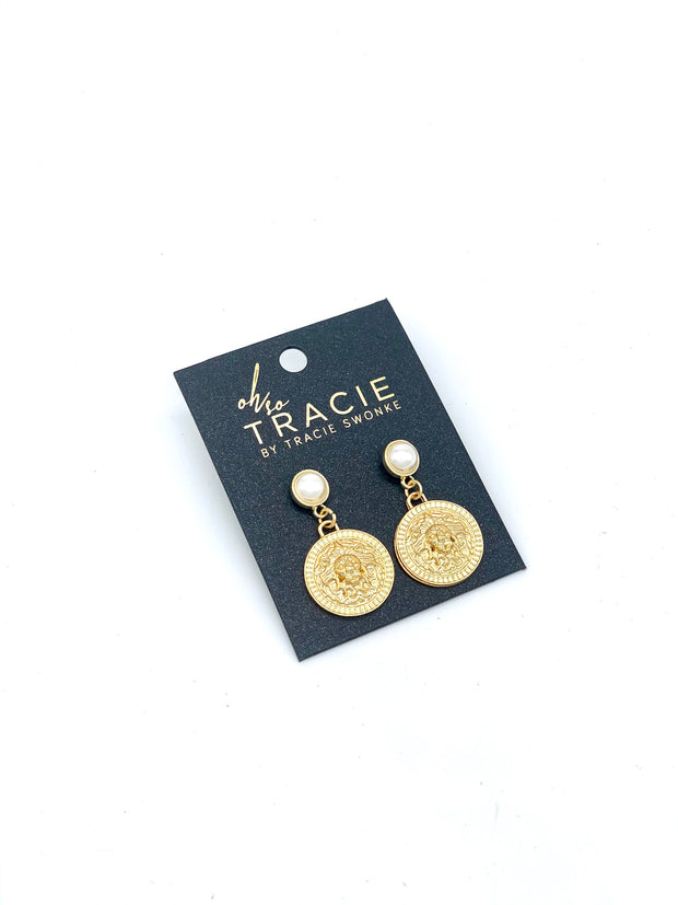 OH SO TRACIE: NALA EARRINGS
